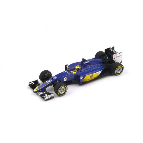 Spark S4608 1/43 Sauber C34 #9 2015 Sauber F1 Team - Marcus Ericsson Resin Model Racing Car