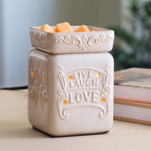 Live Laugh Love Large Warmer