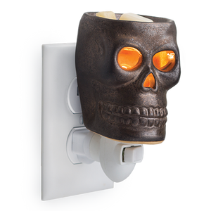 Skull Wax Melt Plug-In