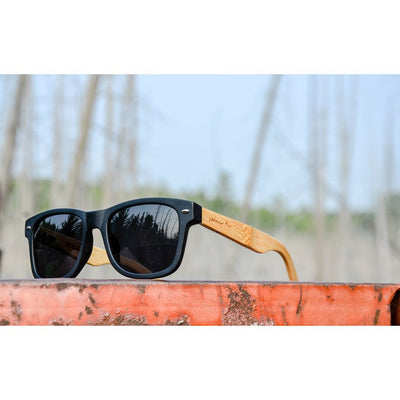 RetroFLY Bamboo Polarized Sunglasses - The Happy Tourist LTD