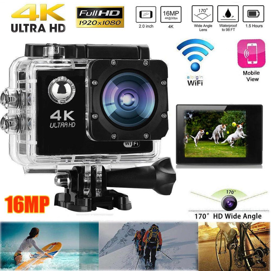 Action Camera DV Video Recorder 16MP Go Pro