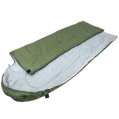 Outdoor Camping Travel Envelope Water Resistance Hooded Sleeping Bag