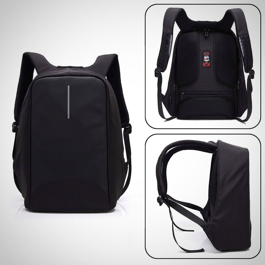 "15.6"" Anti Theft Laptop Backpack with USB Charging"