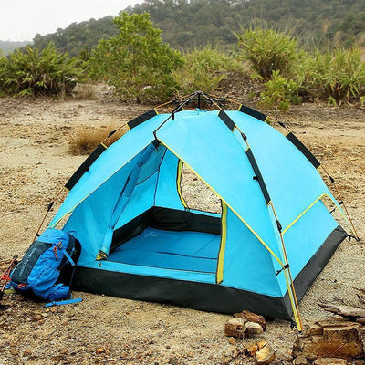 3 Man Tent -  Outdoor Automatic Pop Up Waterproof Tent - The Happy Tourist LTD