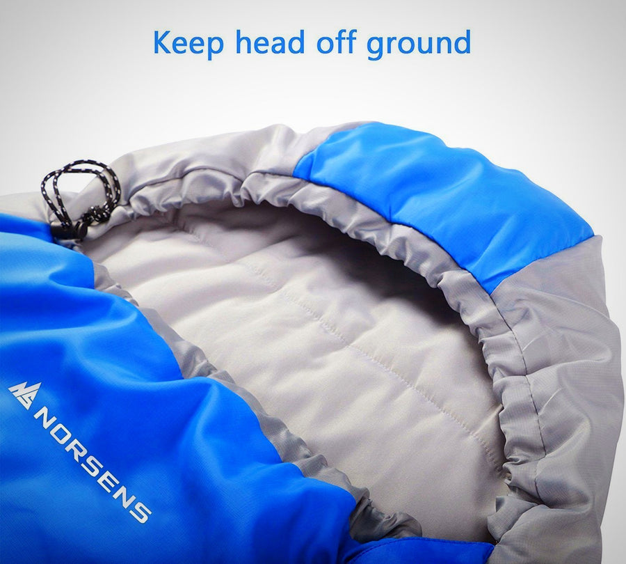 3 Season Mummy Sleeping Bag for Camping Backpacking Hiking - The Happy Tourist LTD
