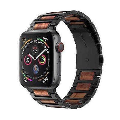 Apple Watch sandalwood Stainless Steel Replacement Strap 44mm 42mm