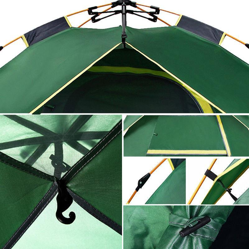 3 Man Tent -  Outdoor Automatic Pop Up Waterproof Tent