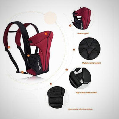 Ecosusi Classic Front and Back Baby Carrier - The Happy Tourist LTD