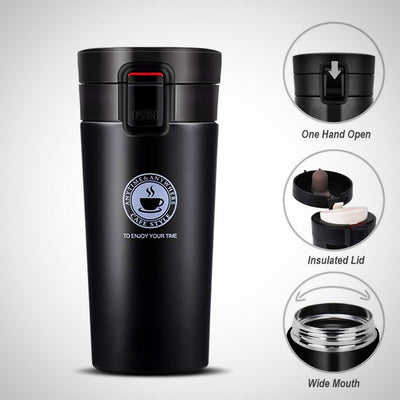 Stainless Travel Coffee Mug - The Happy Tourist LTD
