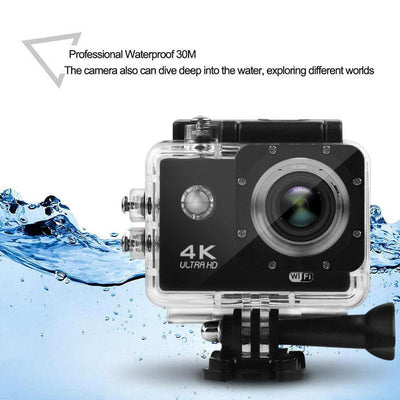vAction Camera DV Video Recorder 16MP Go Pro - The Happy Tourist LTD
