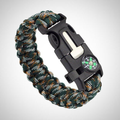Outdoor paracord Bracelet survival watch