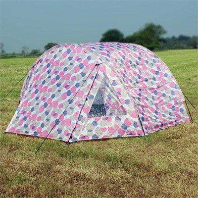 Waterproof 4 Man Tunnel Tent for Camping