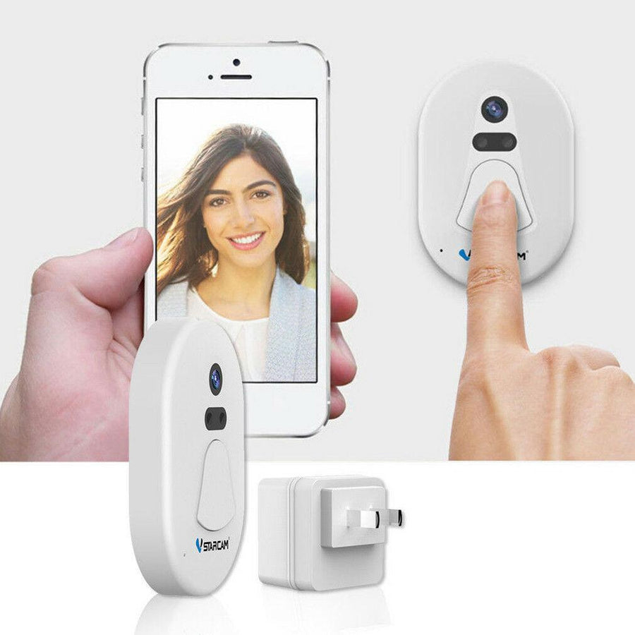 Smart Wifi Video Doorbell | Wireless Security Camera | Video Remote Intercom