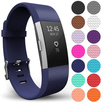 FitBit Charge 2 Replacement Strap Sports Soft Bracelet Watch Wristband Band