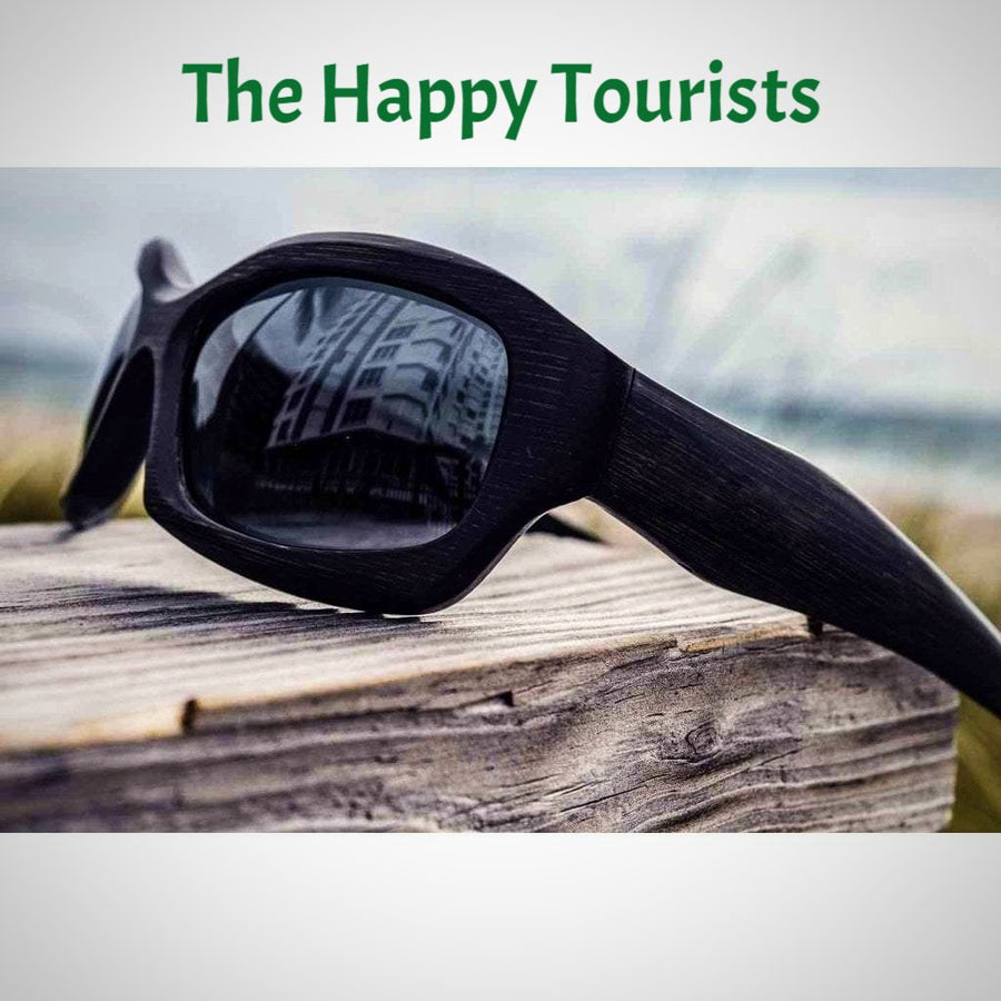 THE WARRIOR - BAMBOO SUNGLASSES - The Happy Tourist LTD