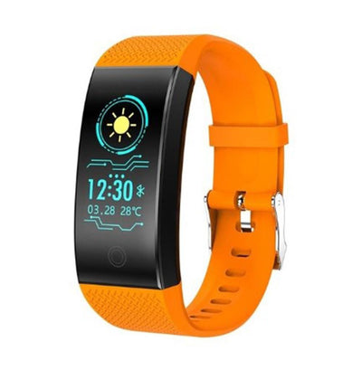 Fitness Tracker Bluetooth Heart Rate Blood Pressure Sensor Smart Watch