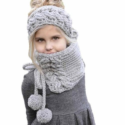 Baby Cap Winter Wool Knitted Handmade Hats Baby - The Happy Tourist LTD