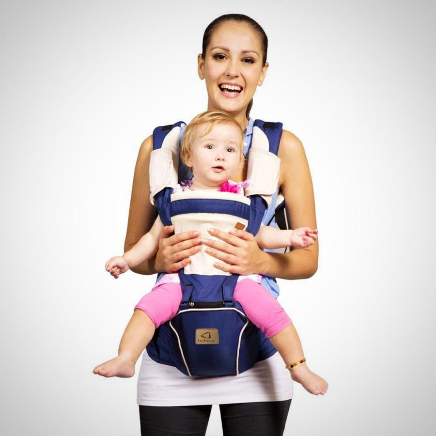 New Style Baby Carrier Hipseat 5 Carry Ways Approved by Safety Standards