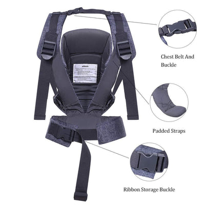 Baby Carrier Backpacks Ergonomic Soft Breathable Infant Carry - The Happy Tourist LTD