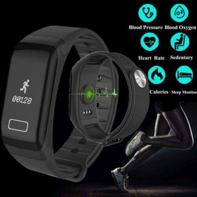 Blood Pressure Monitor Smart Watch - The Happy Tourist LTD