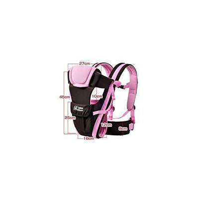 Baby Carrier Positions Backpack, Front Facing, Kangaroo & Sling Lightweight Infant Carrier