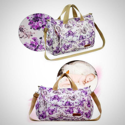 Baby Nappy Changing Bag Mummy Bag Diaper Bag Shoulder Handbag - The Happy Tourist LTD