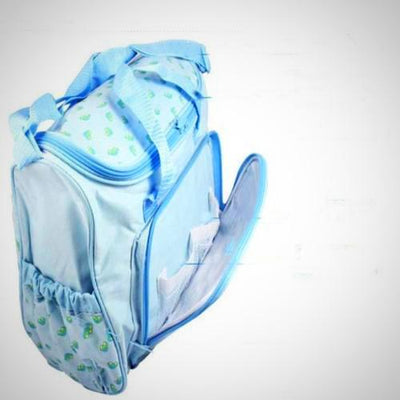 4pcs Large Multifunctional Mummy Handbag Baby Changing Diaper Nappy Bag Pad New - The Happy Tourist LTD