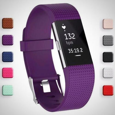 FitBit Charge 2 Replacement Strap Sports Soft Bracelet Watch Wristband Band - The Happy Tourist LTD