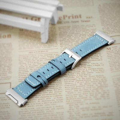 Fitbit Ionic Watch Band Strap Genuine Leather Bracelet Replacement Bracelet - The Happy Tourist LTD
