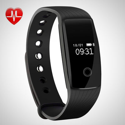 Heart Rate Monitor Tracker Smart Bracelet Activity Tracker - The Happy Tourist LTD