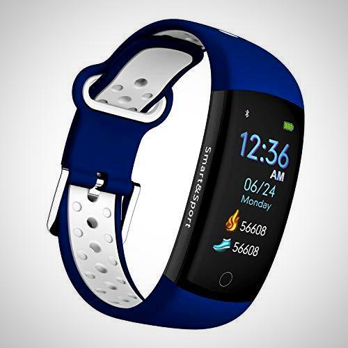 Fitness Tracker Blue, Multisport Activity Tracker Smart Watch - The Happy Tourist LTD
