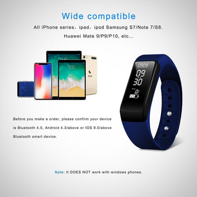 Fitness Tracker, Smart Bracelet Activity Tracker Watch With Sleep Monitor