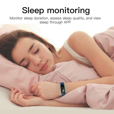 Customized Activity Tracker with Heart Rate Monitor and Sleep Monitor - The Happy Tourist LTD