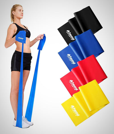 Resistance Band Exercise Band Ideal for Physiotherapy, Strength - The Happy Tourist LTD