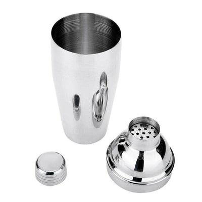 5 Piece Cocktail Set Luxury Manhattan Stainless Steel Shaker Kit Gift Box Accessories by THT