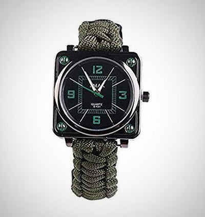 Outdoors Survival Multifunction Bracelet Watch, Survival Kit - The Happy Tourist LTD
