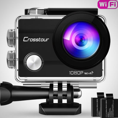 Wifi Action Camera Full HD 1080P Waterproof Cam 2 - The Happy Tourist LTD