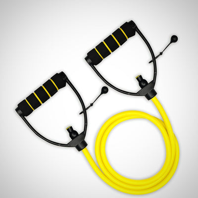 Workout Toning Heavy Fitness Tube Resistance Bands Cord for Exercise Fitness - The Happy Tourist LTD