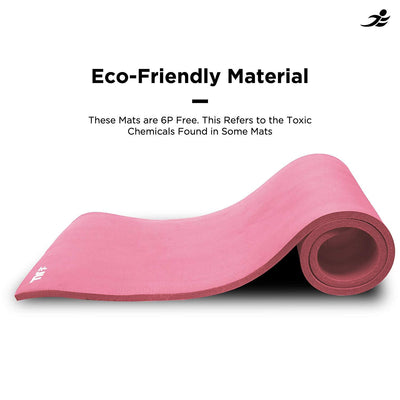 Yoga Mat Extra Thick 15mm Non-Slip Pilates Workout Exercise Mat - The Happy Tourist LTD