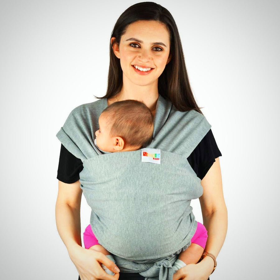 Baby Carriers Sling Infant Wrap - Premium Cotton Original Multiple Positions - The Happy Tourist LTD