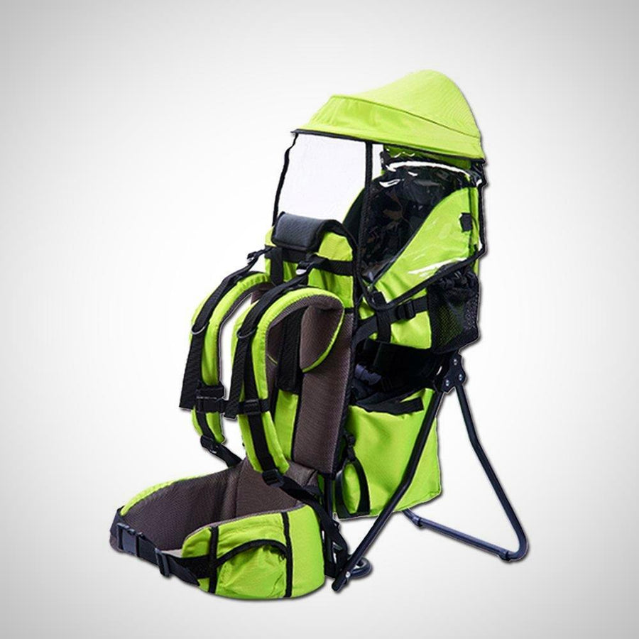 Baby Toddler Hiking Backpack Carrier with Stand Child Kid Sunshade Shield - The Happy Tourist LTD