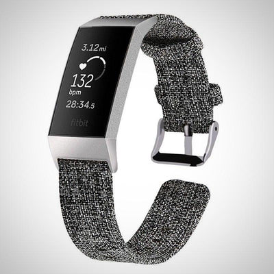 Nylon Woven Fabric Fitbit Charge 3 Strapes - The Happy Tourist LTD