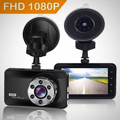 ORSKEY Full HD DVR Dashboard  Video Recorder Car Camera 1080P Wide Angle WDR New
