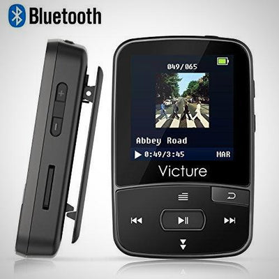 Victure Bluetooth MP3 8GB Clip Sport Portable Lossless Sound Hi-Fi Music Player - The Happy Tourist LTD