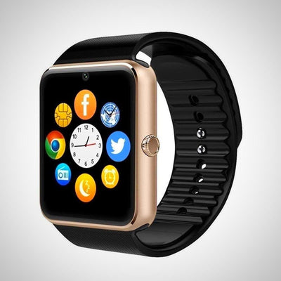 Bluetooth Smart Watch with Camera SIM Slot supports android/iOS - The Happy Tourist LTD