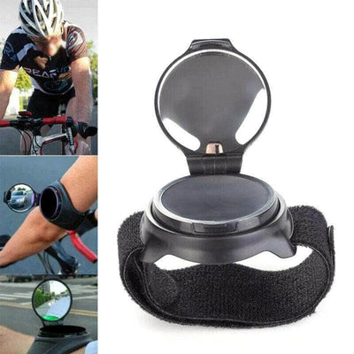 360°Rotation Wrist Band Bike Rear View Mirror Bicycle Rearview Mirror Adjustable