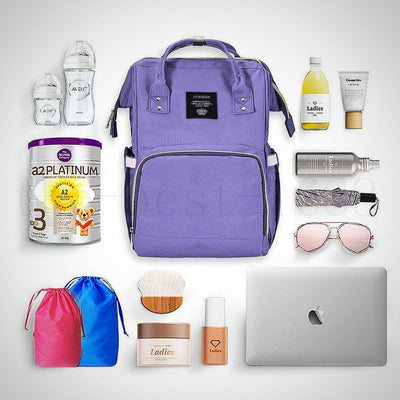Diaper Bag Backpack for Travel - The Happy Tourist LTD