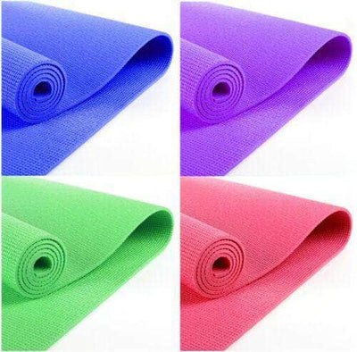 Gym Yoga Mats PVC Excerice Fiteness Soft Non Slip  3mm, 5mm, 8mm Thick