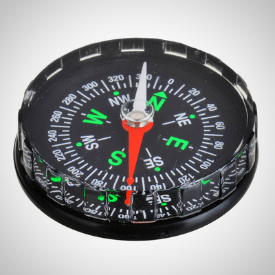 Stylish Fluid-filled Pocket Compass - The Happy Tourist LTD