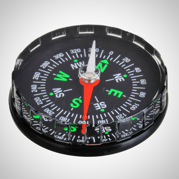 Stylish Fluid-filled Pocket Compass